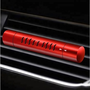 Acceptable Customized Luxury Aluminum Alloy Car Perfume, Liquid Car Vent Clips Air Freshener and Fragrance of Cars