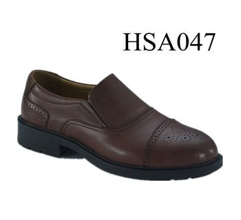 Xy Civil Service Formal Clic Brown Pattern Design Office Shoes For Men