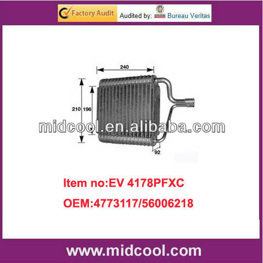 high quality auto ac Evaporator for JEEP 4773117/56006218