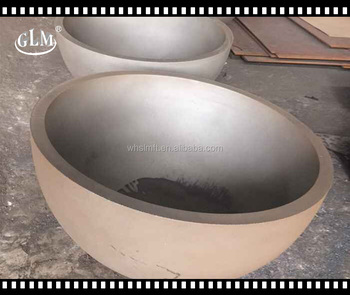 alibaba china supplier hemisphere gas fire pit pan with hemisphere head