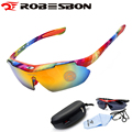 ROBESBON Outdoor Sports Cycling Glasses MTB Road Bike Cycling Sunglasses UV400 Bicycle Driving Fishing Goggle Eyewear