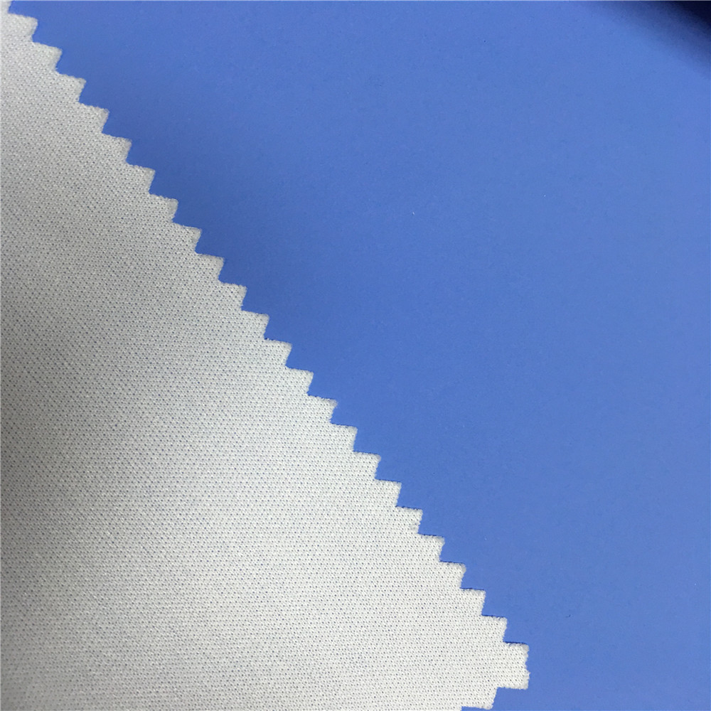 High quality elastic PU synthetic fabric garment leather