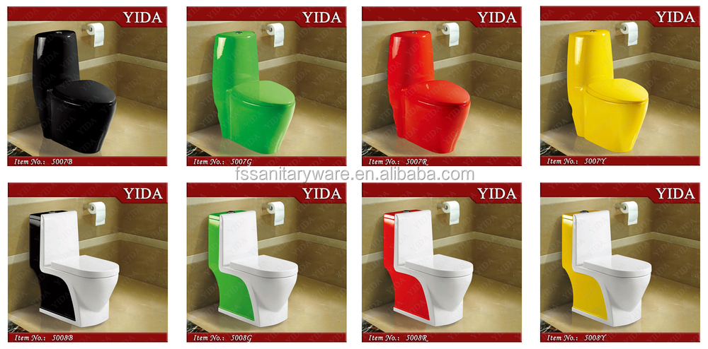 What color toilets are available from TOTO?