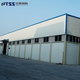 SGS Industrial metal prefab steel structure frame buildings sandwich panel warehouse for sale