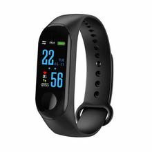 M3 Braccialetto Intelligente di Pressione Sanguigna Per Il Fitness Tracker <span class=keywords><strong>Heart</strong></span> <span class=keywords><strong>Rate</strong></span> <span class=keywords><strong>Monitor</strong></span> Smart Sport Della Fascia Per Android IOS