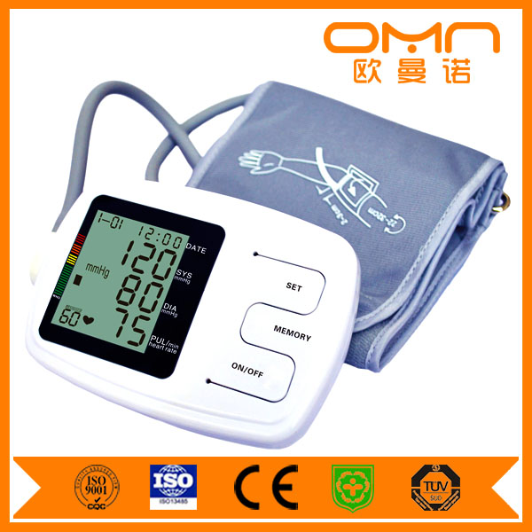 Bluetooth Wireless Rechargeable Wrist Watch Arm abpm Digital Finger Sphygmomanometer Multi-function Blood Pressure Apparatus