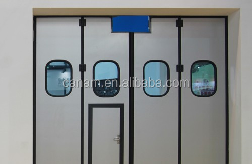 Industrial electric steel folding door with best price
