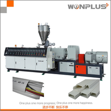 Different sharp and size pvc wire trunking product extruder