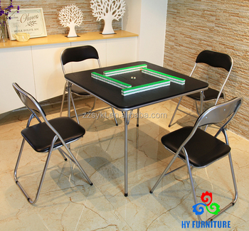 Foldable Table And Chair Set.5 Piece Folding Table And Chair Set Living Room Mahjong Table Set Buy Mahjong Table Dining Table Set Table And Chair Set Product On Alibaba Com
