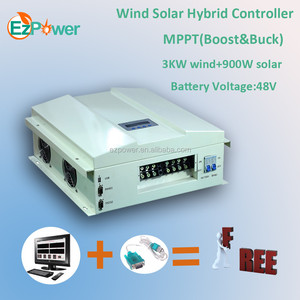 3KW 48V MPPT wind solar hybird charge controller(Boost&Buck)