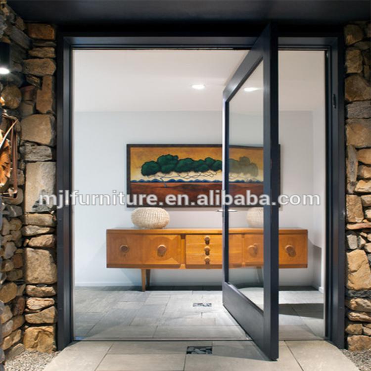 Latest Design Top Grade Residential Aluminum Alloy Entry Doors