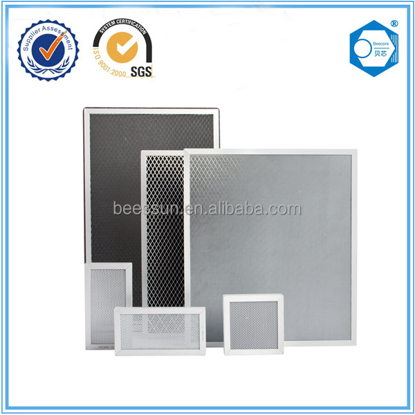Customized Size Activated Carbon Filter Screen Honeycomb For ...