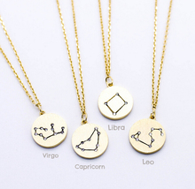 China factory Stainless Steel Newest 2016 Custom Zodiac stone statement necklace DP-0003