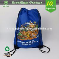 Promotional Customized soccer drawstring bag