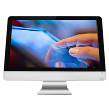21.5 inch touch screen all-in-one pc with desktop computer