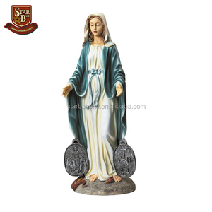 Wholesale cheap custom resin the madonna catholic religious souvenirs