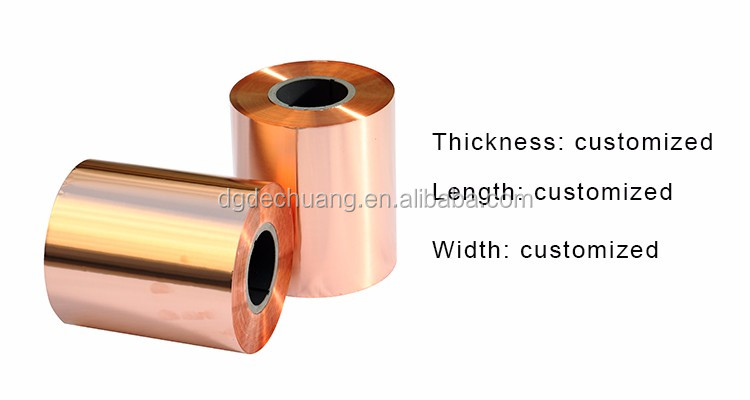 0.05 mm thickness EN ISO SGS standard beryllium copper strip