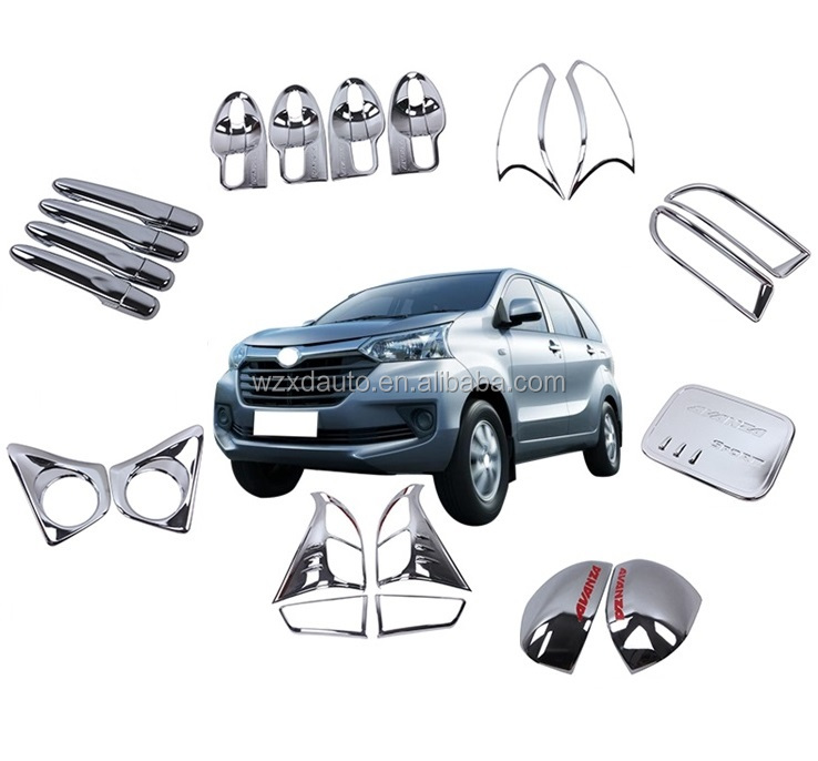 ABS Chrome Decoration Full Kit For AVANZA 2016 New Complete Sets New Full Sets 8 Products Avanza 2016