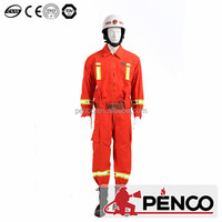 firefighter safe clothes fire retardant suit single layer security cotton protection fireman workwear suit