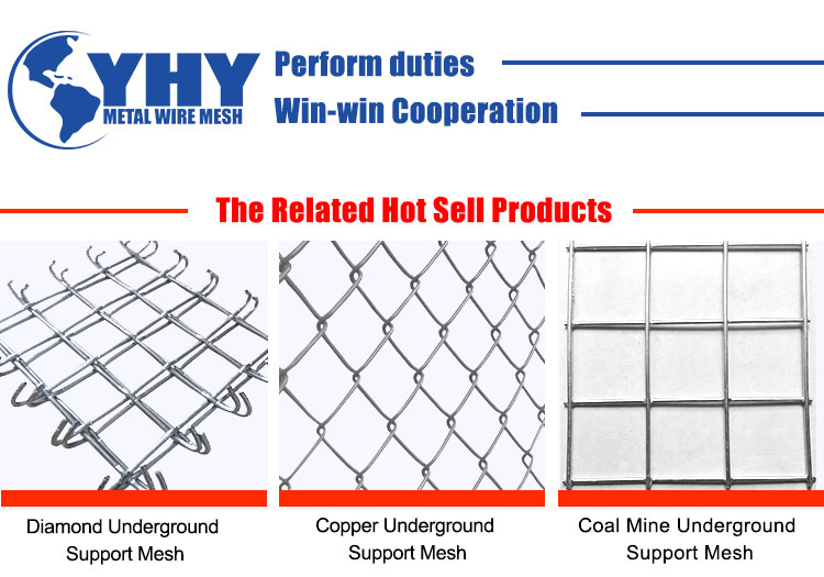 100 * 100 mm  Welded Wire Gold Mining Support  Wire Mesh with Strong Structure and High Security