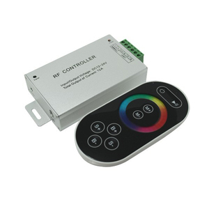 Professional Quality RGB LED RF touch controller remote control for led light dimming