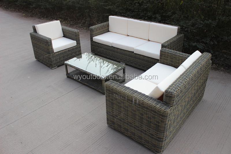 Ydl Outdoor L Shaped Rattan Sofa Sets