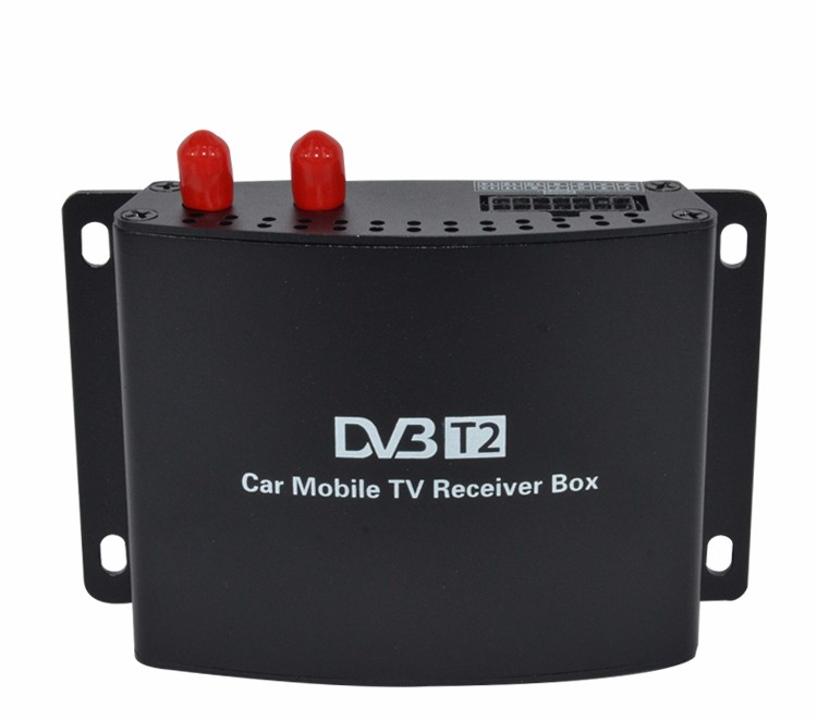 SYTA S2013D Full HD 1080P Car DVB T2 Digital TV Receiver Working at the Speed of 180 km/h