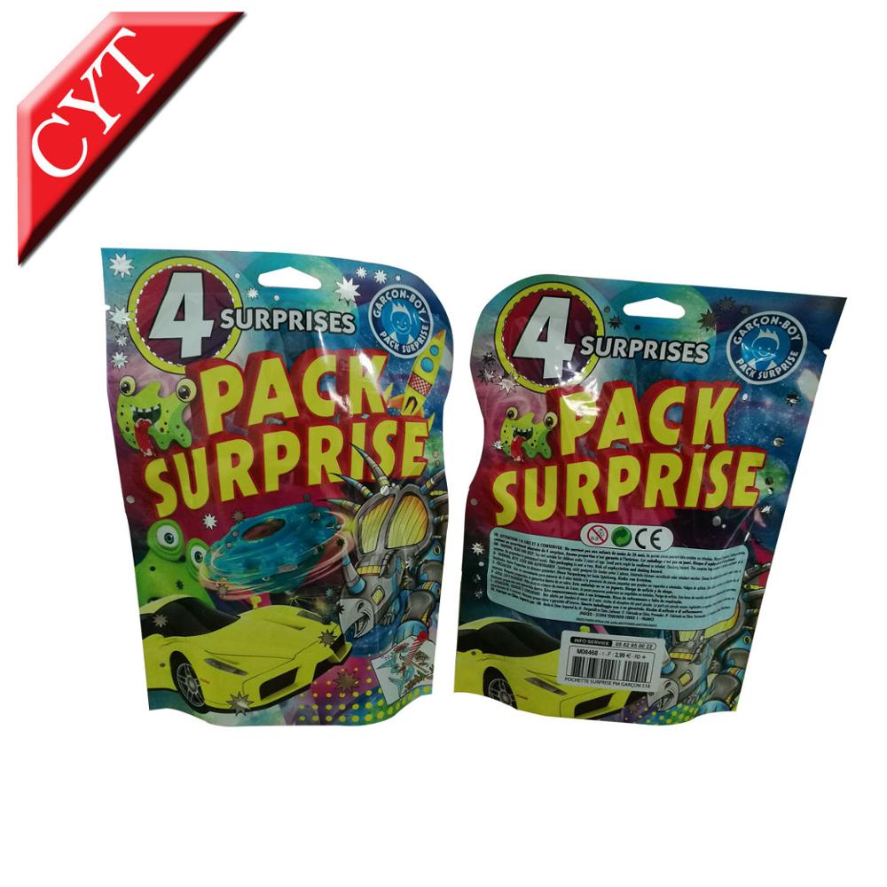 Mylar bags custom printing special shape pouches for baby toys