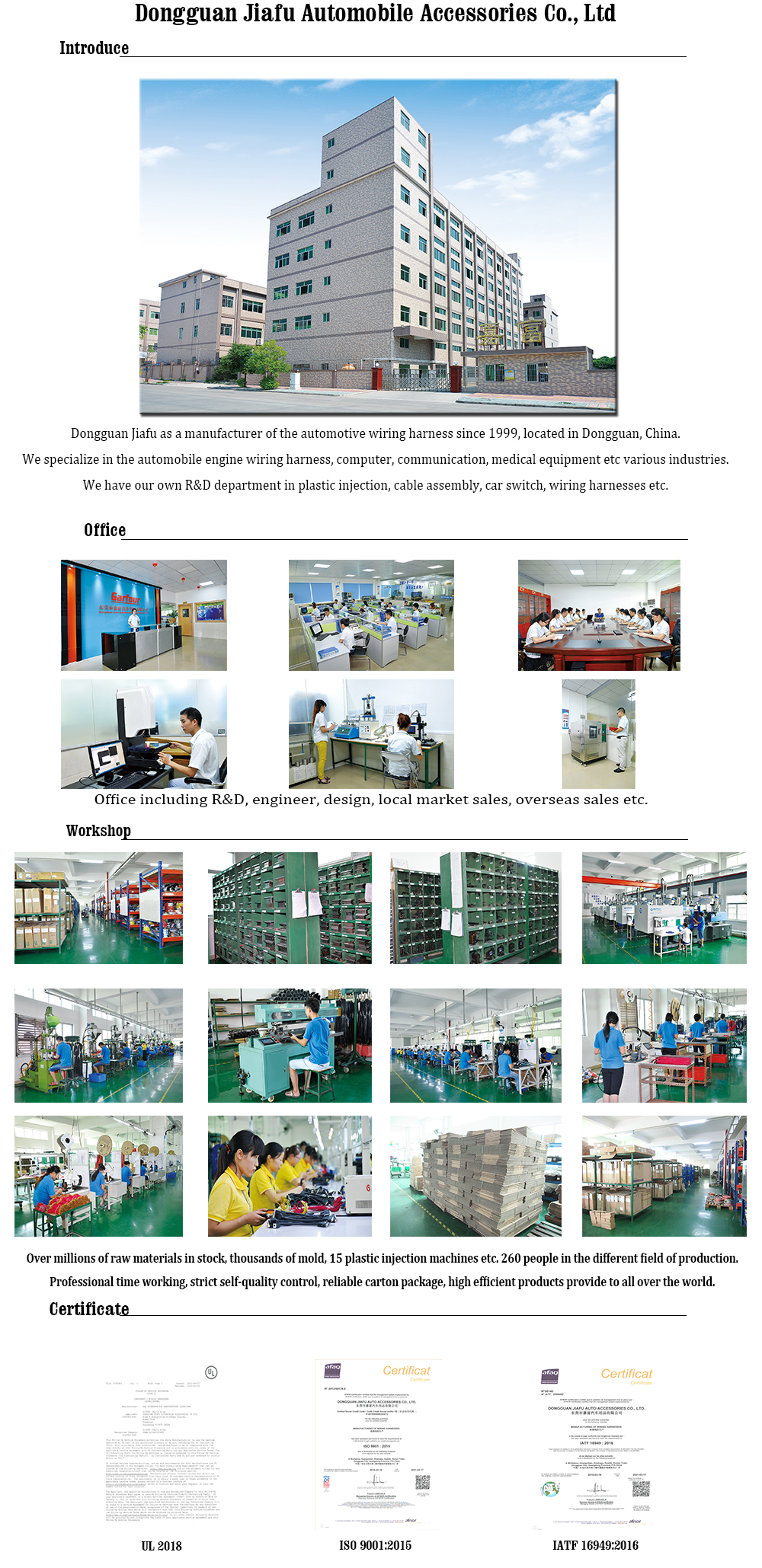 Customize Vehicle Engine Wire Harness Automobile Buy Wiring Quality Control Instroduction