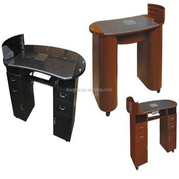 Nail salon furniture manicure table salon beauty maniure for Beauty salon furniture manicure table