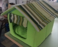 Pets accesories dog bed luxury cave pet house