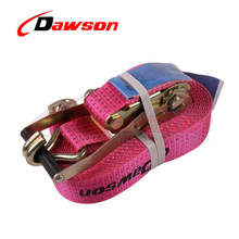 Dawson Yellow color cheap price ratchet tie down buckle strap