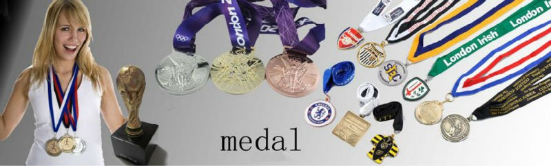 Sports Competition custom 3d running award silver medal