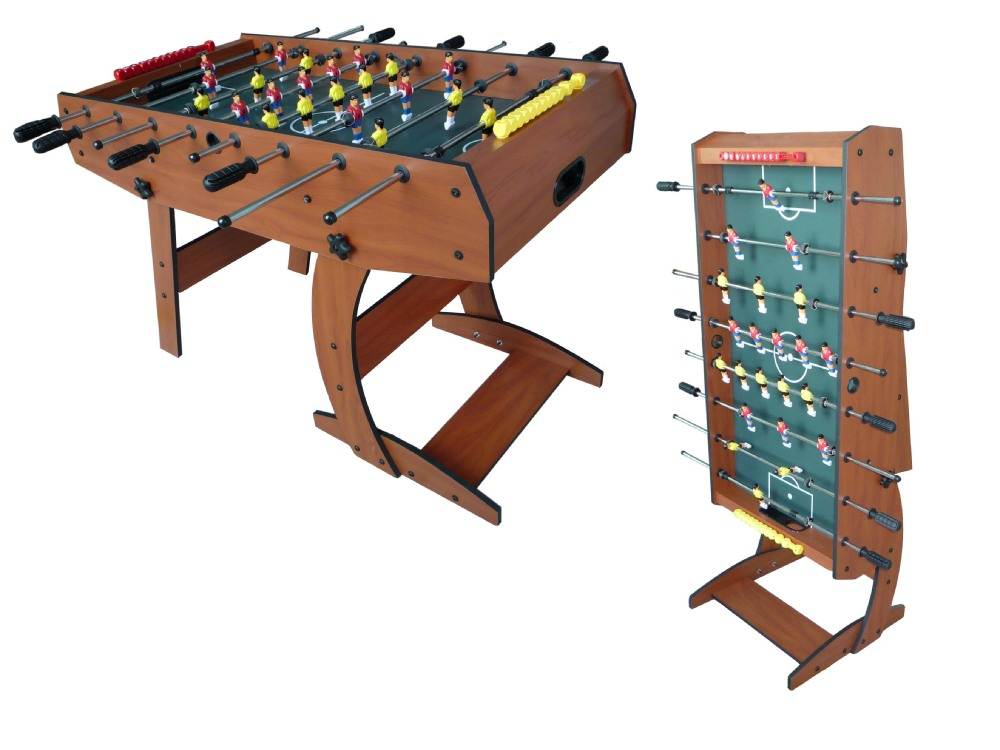 Cheap Custom Household MDF Folding Foosball Soccer Table