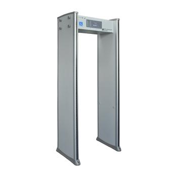 New Design 6 Zones Walk Through Door Usage Frame Metal Detector Gate ...