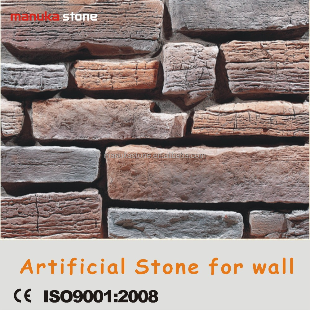 Plastic model cement material manufactured poland stone for wall