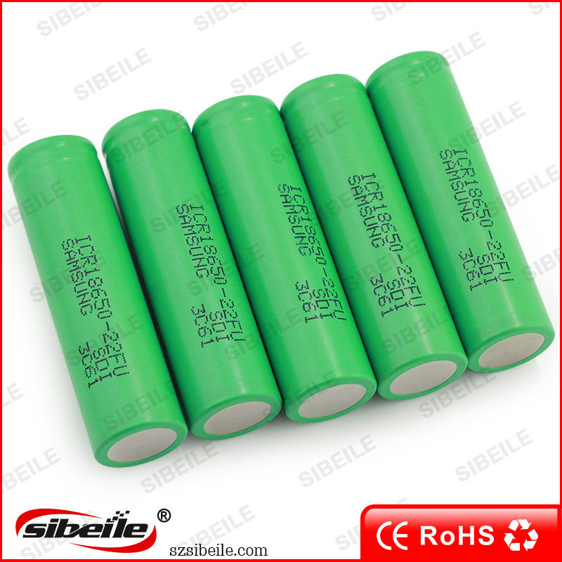 Samsung Li Ion Battery 18650 3.7v 4.2v 2200mah Li-ion Battery Cell ...