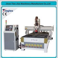 automatic door make cnc woodworking machine