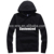 Customized Fitness Wear Wholesale Plain Black Hoodie Men Order From 50 Pieces