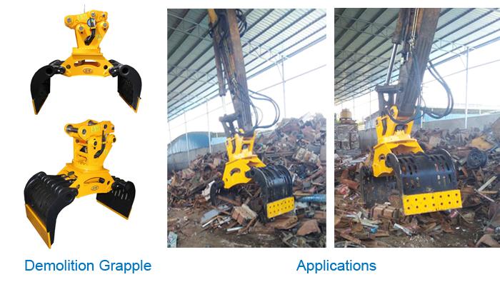 Excavator Grapple