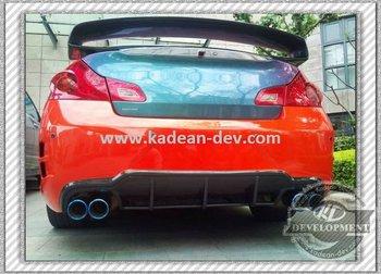 08 12g25 G35 G37 V35 V36 4 Door 4d Sedan E Style Rear Per With