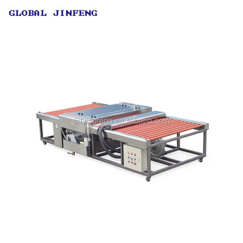 JFW-2000 Horizontal type Industrial glass washing machine price with CE