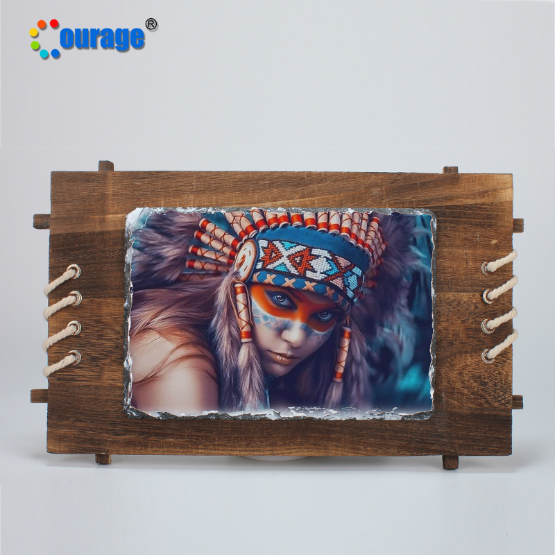 Art craft pieces wooden photo frame with cuastom pictures