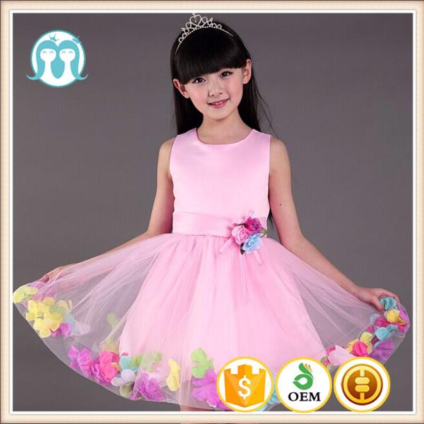 Retail hermoso vestido elegante de la muchacha de flor India al por ...