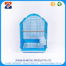 Wholesale custom stainless steel bird cage with tray