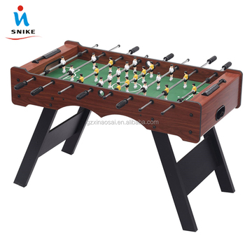 48u0026quot; Indoor Diy Table Football Game Wooden Table Top Football Game