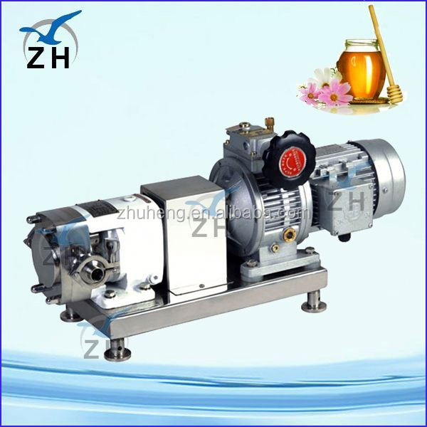 Stainless steel food def stainless steel rotary vane pump