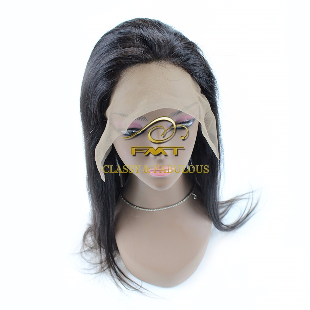 Fmt 100 Human Hair Brazillian Hair Wigs Full Lace Wig
