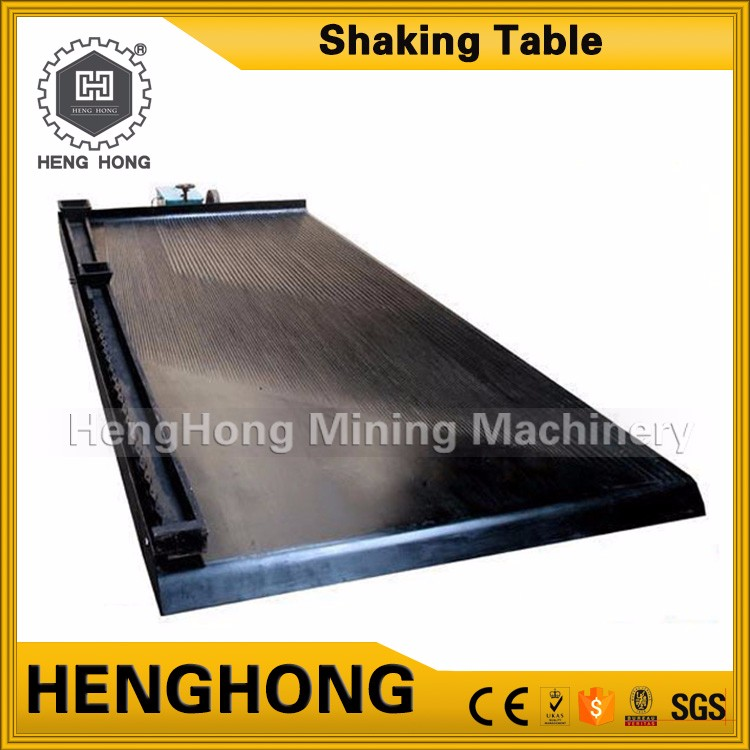 China dish for gold panning new technology gold shaking table low price