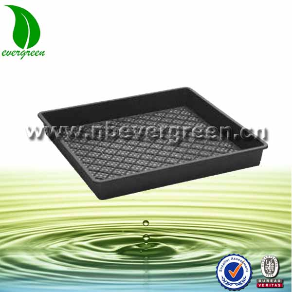 Cheap high quality PS seed tray for rice planting with no cells